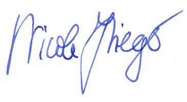 Signatur Nicole Krieger