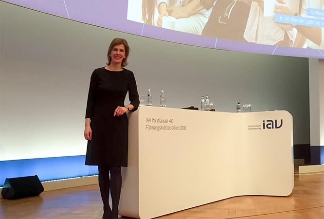 Moderation IAV Berlin Nicole Krieger