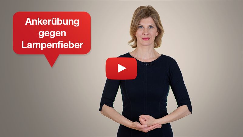 Videotipp: Mentalübung gegen Lampenfieber