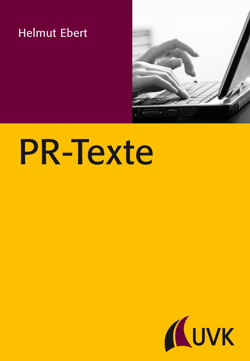 Cover Buch PR-Texte