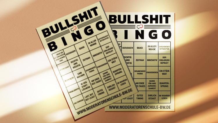 Bullshit Bingo Karten